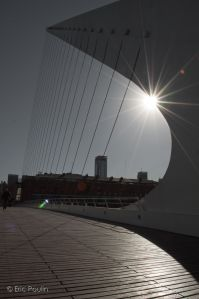 Puente de la Mujer, in the Puerto Madero district of Buenos Aires