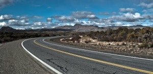 HDR of the winding roads