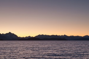 Another great sunset in Bariloche