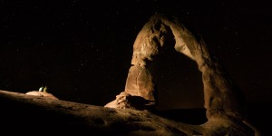 Stargazing at Arches